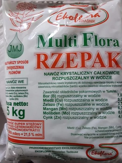 Multi Flora rzepak krystaliczny